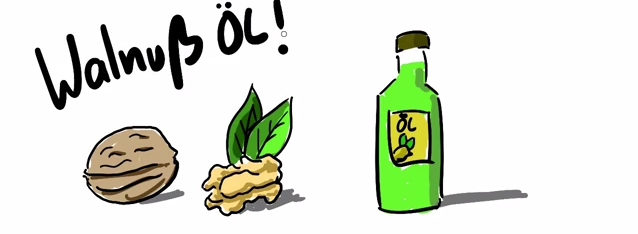 besserer geschmack bei almased mit walnußöl