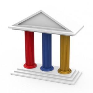 auf dem bild sind 3 säulen zu sehen die entsprechen für ernährung sport und motivation stehen