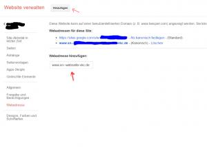 Domain mit Umlauten hinzufügen im Puni-Code