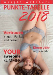 Weight Watchers Puntketabelle zum Downloaden